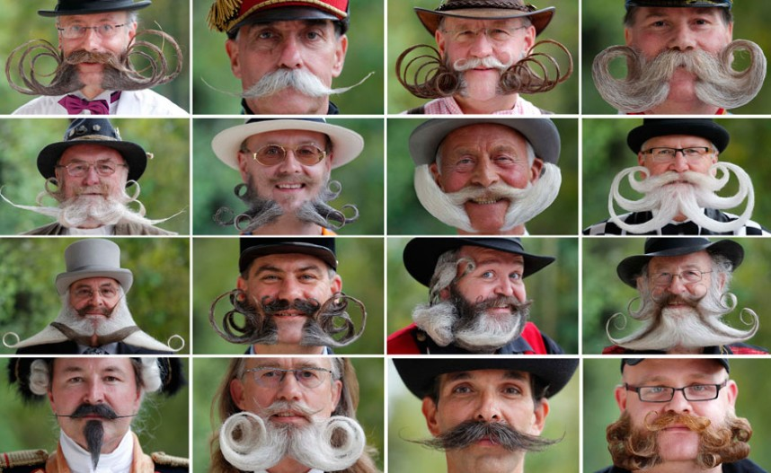 Mustache Movember from The Telegraph